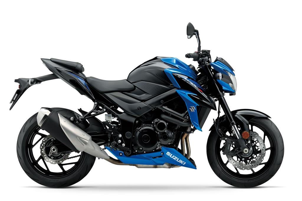 GSX-S750 L8 Metallic Triton Blue / Glass Sparkle Black
