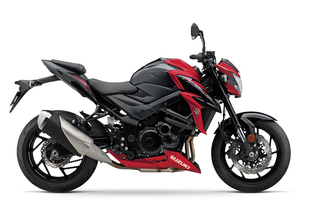 GSX-S750 L8 Candy Daring Red