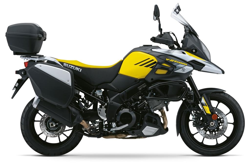 V-Strom 1000 Traveller L8 Yellow